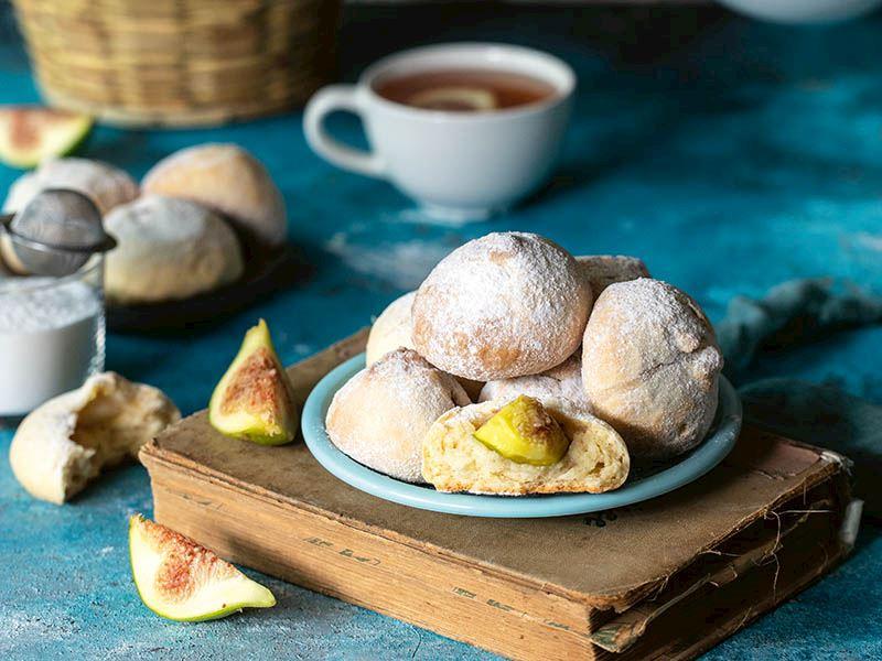 Taze incirli kurabiye bombası