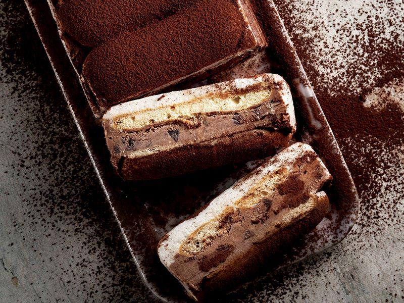 Tiramisu dondurmalı kat kat pasta
