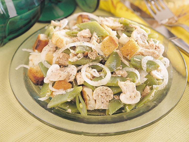 Ton Balıklı Fasulye Salatası
