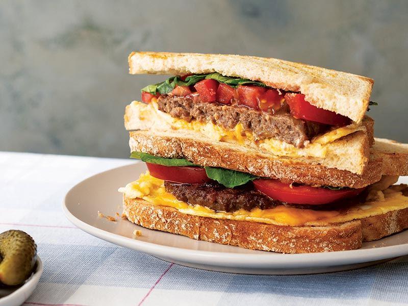 Tost hamburger