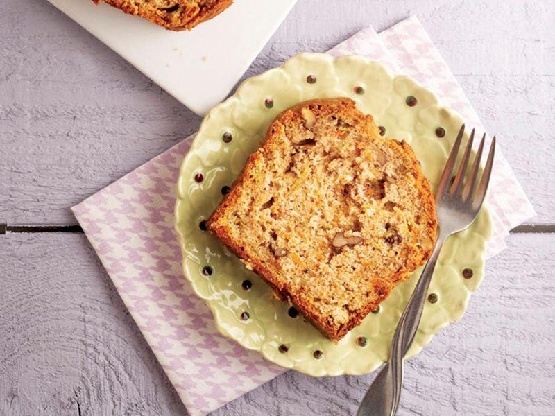 Yeşil kabaklı kek