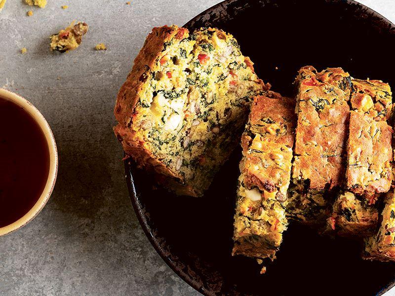 Yeşil mercimekli kek