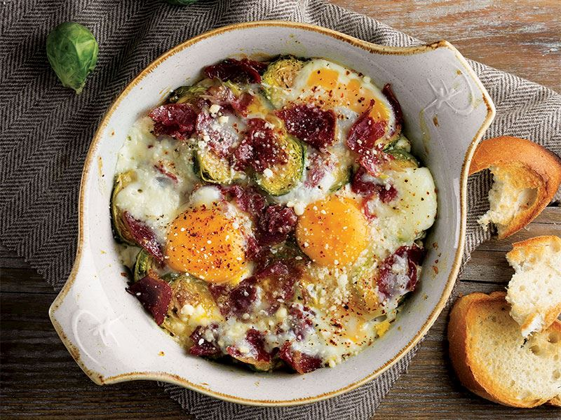 Yumurtalı Brüksel lahanası