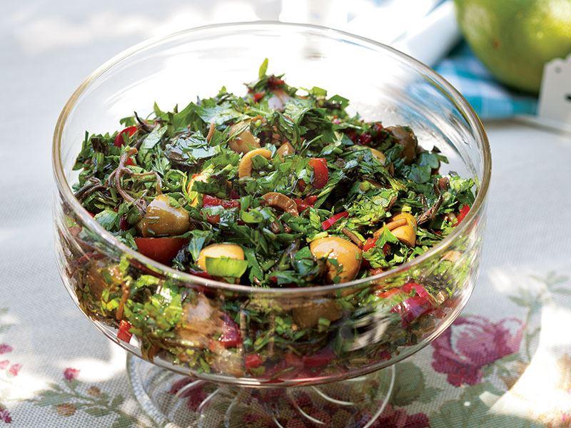 Zahterli Zetin Salatası