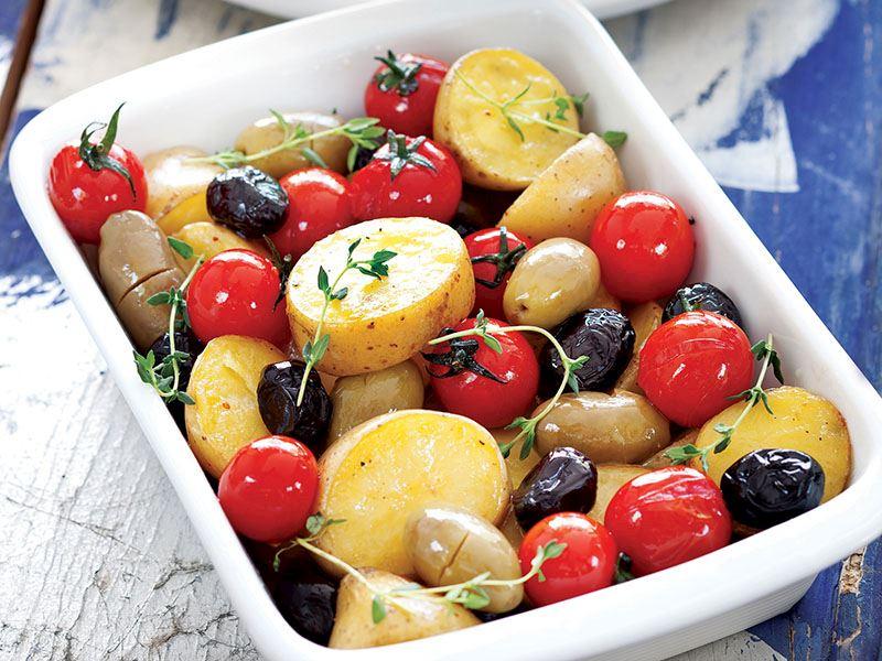 Zeytinli Patates
