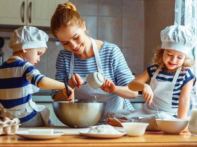 Çocukları mutlu edecek mutfak sırları