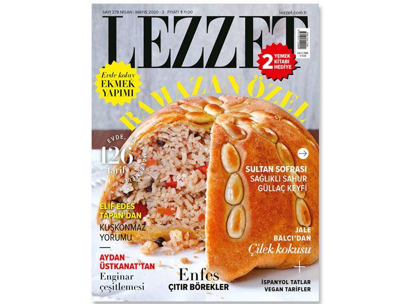 Lezzet Dergisi'nin Nisan-Mayıs Sayısı Çıktı!