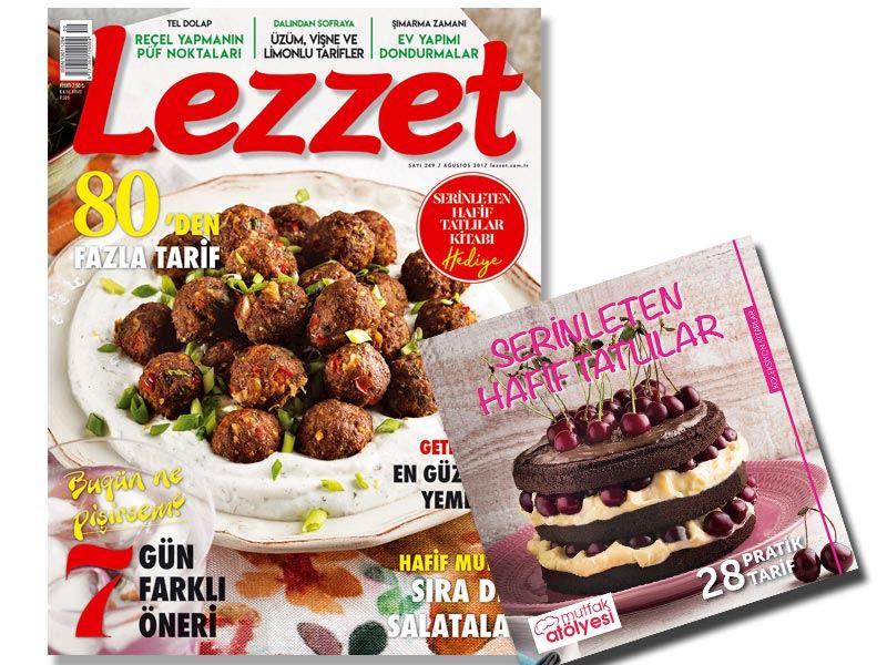 Lezzet'in Ağustos Sayısı Bayilerde!