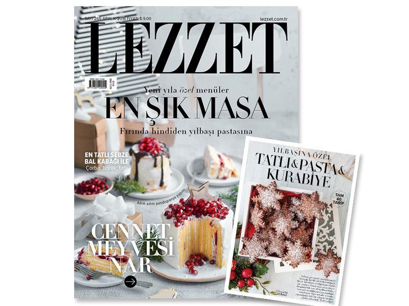 Lezzet'in Aralık Sayısı Çıktı!