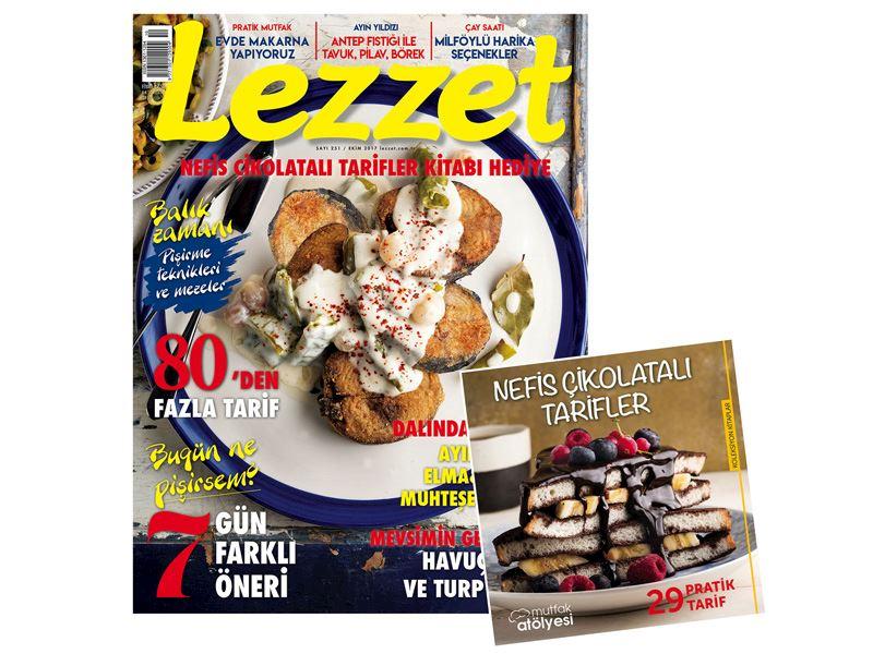 Lezzet'in Ekim Sayısı Çıktı!