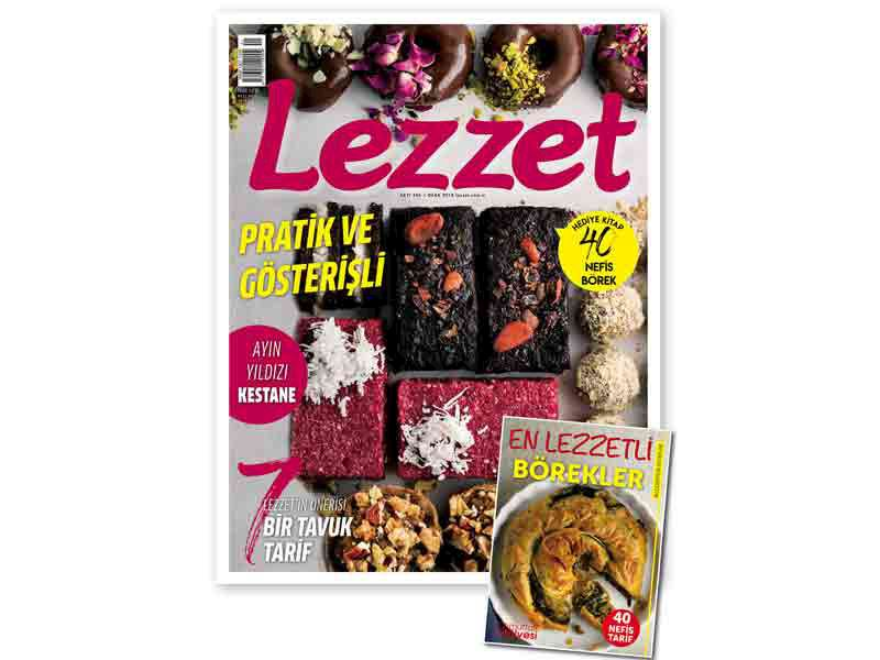 Lezzet'in Ocak Sayısı Bayilerde!
