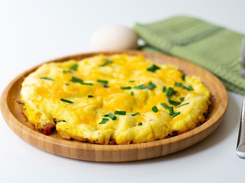 kolay kahvaltılık omlet